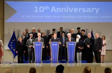 EU kêu gọi các cộng đồng tôn giáo nỗ lực vì sự phát triển chung