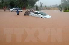 [Photo] Trung Quốc: Mưa lũ gây ngập lụt nghiêm trọng ở Quảng Tây