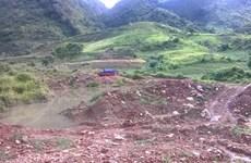 [Photo] Núp bóng trang trại, khai thác vàng trái phép ở Lai Châu