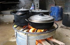 Bếp TK90 tiết kiệm nhiên liệu và thân thiện với môi trường