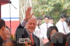 Cựu Tổng thống Mỹ Bill Clinton thăm và làm việc tại Việt Nam