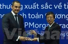 ACB nhận giải thưởng về tỷ lệ điện chuẩn thanh toán quốc tế