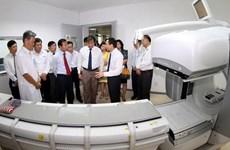 Khánh thành Trung tâm y học hạt nhân và xạ trị khu vực miền Trung