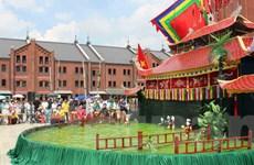 Múa rối nước Việt Nam làm xiêu lòng khán giả Nhật Bản