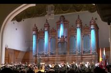 Dàn nhạc giao hưởng Việt Nam chinh phục công chúng Nga