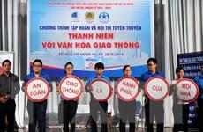 TP.HCM: Sôi nổi Ngày hội thanh niên với văn hóa giao thông