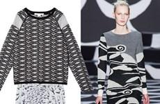 Áo len kết hợp với chân váy = cặp đôi hoàn hảo cho Thu Đông