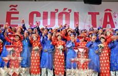 Lễ cưới tập thể cho 100 đôi uyên ương tại TP Hồ Chí Minh