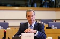 Khối EFDD tại Nghị viện châu Âu tan rã sau 5 tháng thành lập