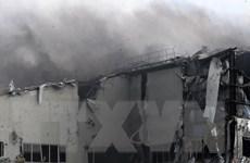 Ukraine: Một vụ nổ kinh hoàng làm rung chuyển thành phố Donetsk