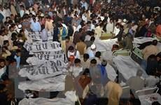 Nổ lớn tại biên giới Pakistan-Ấn Độ, hơn 175 người thương vong