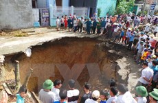 Thanh Hóa: Phát hiện hang caster gần hố tử thần ở xã Quý Lộc