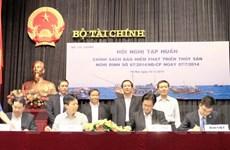 Bảo Việt đồng hành cùng ngư dân bám biển, khai thác xa bờ