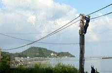 Xã đảo Hòn Tre sẽ có điện lưới quốc gia trước Tết Ất Mùi
