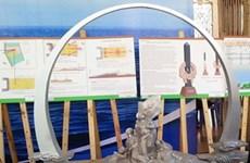 Trưng bày phương án thiết kế Khu tưởng niệm chiến sỹ Gạc Ma