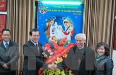 Đoàn Mặt trận Tổ quốc chúc mừng Tòa giám mục tỉnh Bắc Ninh