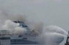 Vụ cháy phà Norman Atlantic: Gần 100 người lênh đênh trên biển