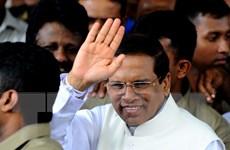 Ông Sirisena tuyên thệ nhậm chức Tổng thống Sri Lanka