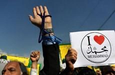 Iran: Hàng chục nghìn người biểu tình phản đối Charlie Hebdo