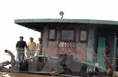 Nguy cơ sập đường ống cấp nước đến Nhà máy Nhiệt điện Vũng Áng I