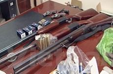 Bắt giữ đối tượng tàng trữ nhiều vật liệu để sản xuất vũ khí