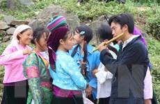 [Photo] Độc đáo phiên chợ Tết của đồng bào dân tộc vùng cao Hà Giang