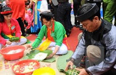 Thi bánh chưng bánh giày - dấu ấn của Lễ hội Côn Sơn Kiếp Bạc