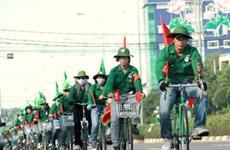 """4.000 sinh viên tái hiện 5 cánh quân chủ lực """"Tiến về Sài Gòn"""""""