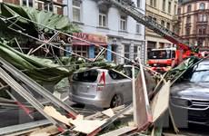 Bão Niklas làm tê liệt hệ thống giao thông tại nhiều bang ở Đức
