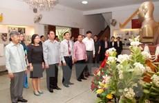 Hoạt động của Thường trực Ban Bí thư Lê Hồng Anh tại Lào