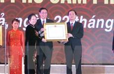 Thành phố Cẩm Phả đón nhận Huân chương Độc lập hạng Nhất