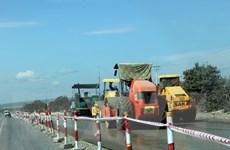 Quảng Ngãi: Đền bù các hộ dân bị nứt nhà do thi công Quốc lộ 1A