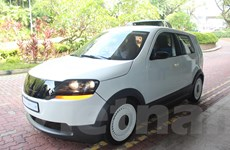 Singapore lần đầu tiên ra mắt mẫu xe taxi điện tự sản xuất