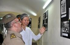 Trưng bày bộ ảnh về lịch sử Quân đội Nhân dân Việt Nam tại Cuba