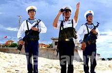 """Giao lưu """"60 năm hành trình giữ biển"""" của Hải quân Việt Nam"""