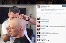 """Hé lộ hình ảnh McAvoy cạo trọc đầu trong phần cuối của """"X-Men"""""""