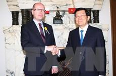 Việt Nam-CH Séc nhất trí tiếp tục phát triển mối quan hệ toàn diện