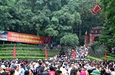 Từng bước đưa Lễ hội Đền Hùng trở thành một lễ hội mẫu mực