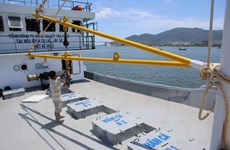 Bà Rịa-Vũng Tàu: Tàu sắt đầu tiên đóng theo Nghị định 67 xuất bến
