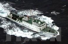 Nhật tập luyện khả năng đối phó tàu Trung Quốc xâm nhập trái phép