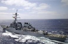 Tàu chiến Mỹ USS Laboon tới Gruzia tham gia sứ mệnh huấn luyện