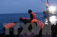 Cứu 11 ngư dân bị tàu nước ngoài đâm chìm trên biển Hoàng Sa