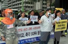 Hàn-Mỹ họp lần đầu về vụ chuyển nhầm mẫu vi khuẩn bệnh than