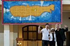 """Bảo tàng Mỹ trưng bày bức thảm """"đặc biệt"""" tôn vinh John Lennon"""