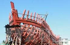 Quảng Ngãi giải ngân hơn 13,2 tỷ đồng đóng tàu đánh cá vỏ thép