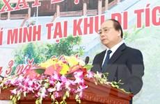 Khánh thành Nhà tưởng niệm Hồ Chủ tịch tại Khu Di tích K9-Đá Chông