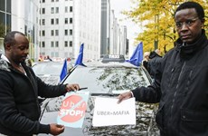 Tòa án Bỉ chính thức cấm dịch vụ taxi giá rẻ UberPop tại Brussels