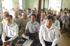 Ninh Thuận xử lý vụ đưa bia mộ vào địa điểm xây trường mẫu giáo