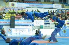 Hơn 350 vận động viên tranh tài tại giải vô địch Vovinam toàn quốc