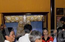 Hoa văn trên trang phục của phụ nữ cung đình triều Nguyễn